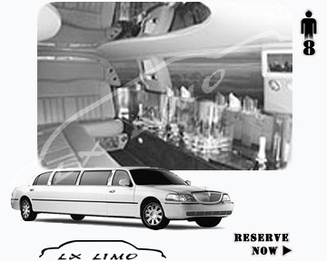 Stretch Wedding Limo for hire in Las Vegas, ON, Canada