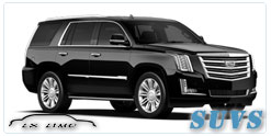 SUV for hire in Las Vegas