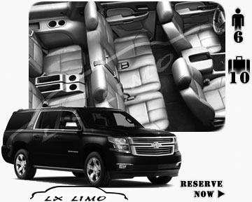 SUV Suburban for hire in Las Vegas