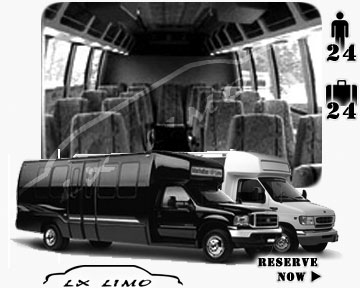 Bus for airport transfers in Las Vegas, NV